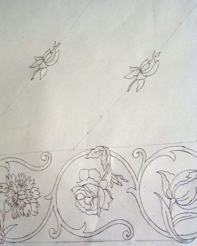 Disegno carta manto BMVG